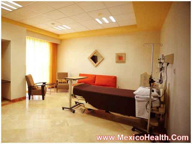 Separate Patient Room in Hospital in Puerto Vallarta - Mexico
