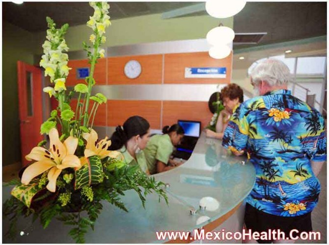 Reception Area - Leading Hospital in Mexico