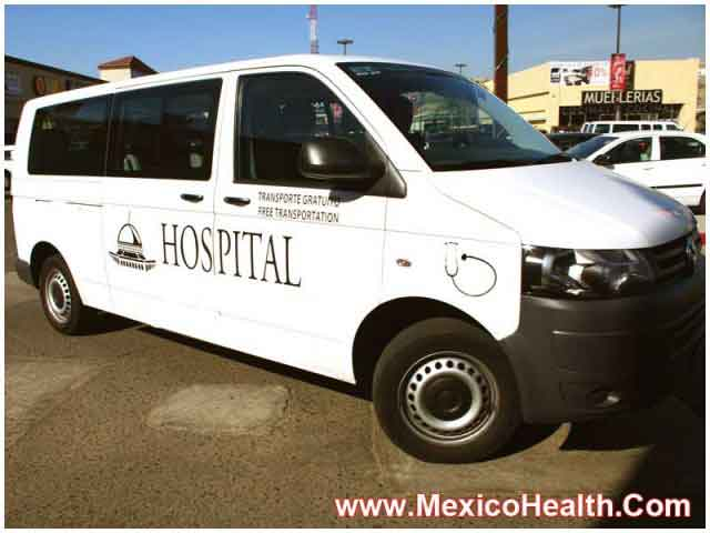 Airport Pickup Service Hospital in Tijuana - Mexico