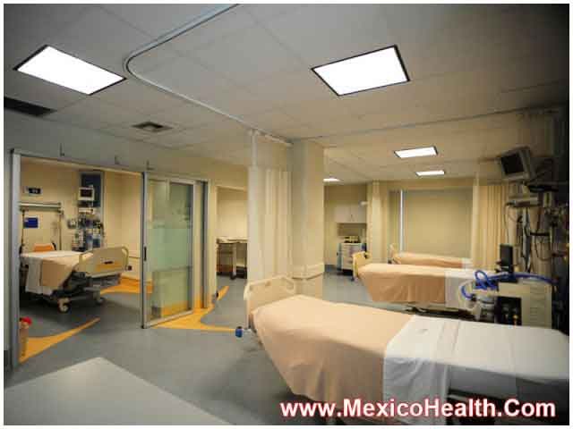 Patient Ward Hospital in Mexico