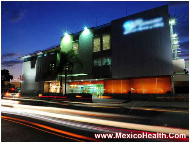 Mexico Hospital View at Night