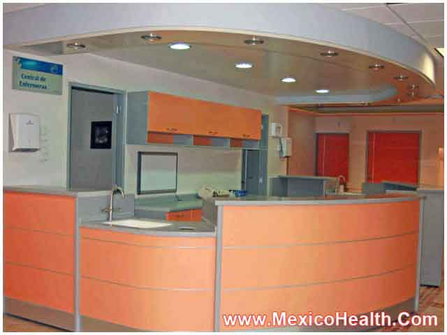 Reception Area - Hospital in Mexico