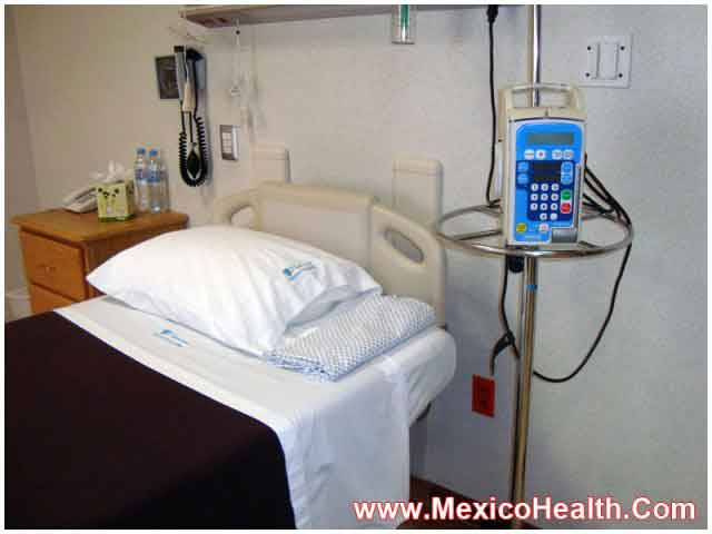 Patient Room in Hospital in Mexico