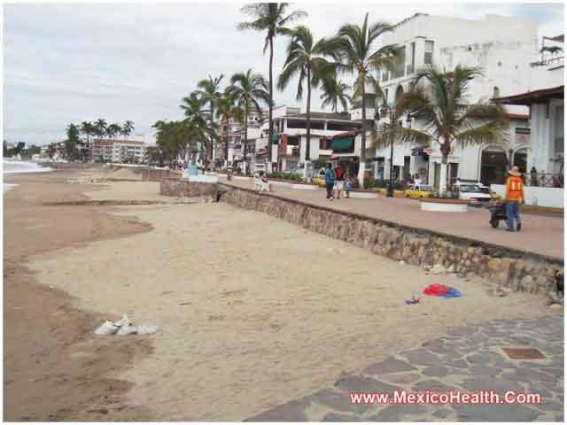 A Beach in Puerto Vallarta