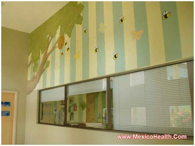 Hospital Interior in Mexico