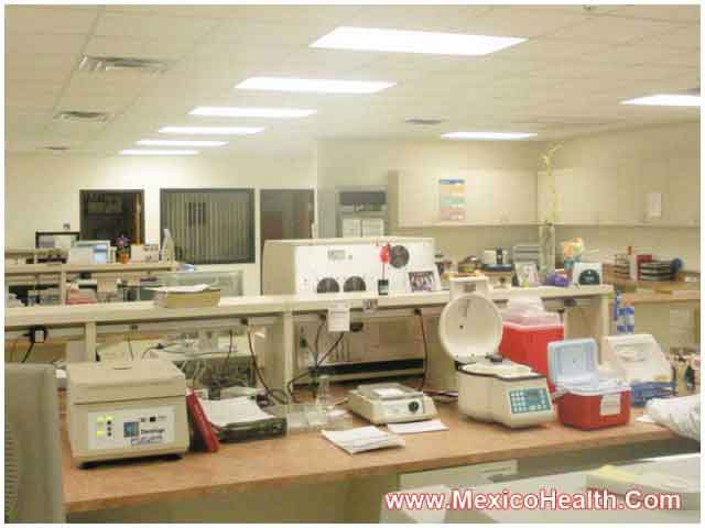 Laboratory in Hospital - Mexico