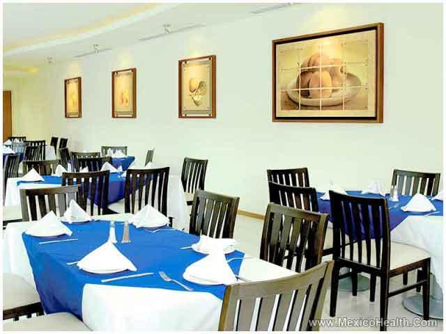 Restaurant in a Hospital in Guadalajara - Mexico