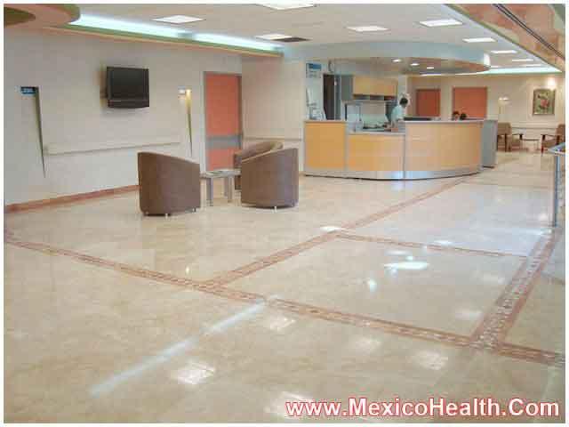 Reception in a Leading Hospital in Puerto Vallarta - Mexico