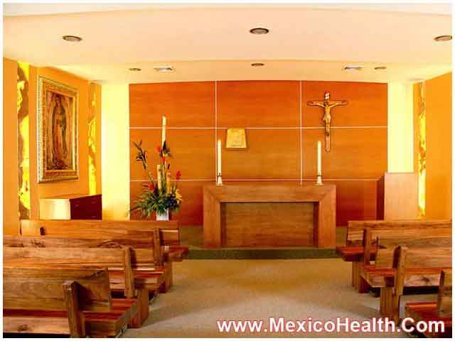 Prayer Room at a Hospital in Guadalajara - Mexico