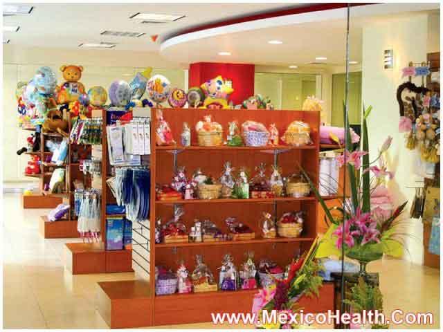Gift Shop in Guadalajara Hospital