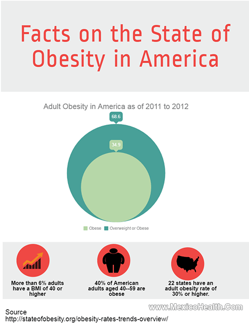 Obesity Statistics in the United States - Infographic
