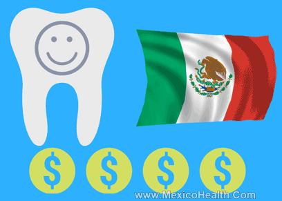 How much for dental work in Mexico?